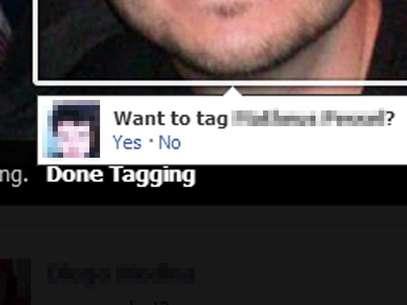 Ferramenta sugere a marcação de amigos em fotos usando tecnologia de reconhecimento facial Foto: Reprodução