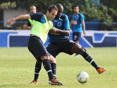 Thiago Carvaho é um dos que deve deixar o Cruzeiro Foto: Washington Alves/Vipcomm / Divulgação
