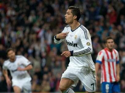 Novo contrato deCristiano Ronaldo vai até 2018 Foto: Getty Images