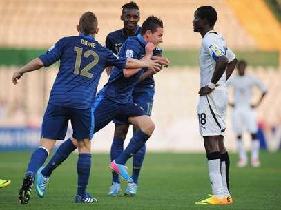 Thauvin marcou os dois gols da França na semifinal Foto: Getty Images