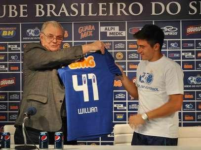 Willian já mirou títulos do Brasileiro e da Libertadores Foto: Divulgação