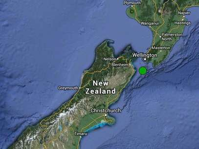 O tremor ocorreu a uma profundidade de 10 quilômetros Foto: EFE