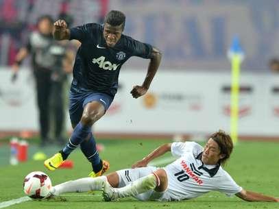 Zaha salvou o Manchester United de mais uma derrota no Japão Foto: AFP