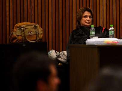 Promotoria e defesa apresentaram vídeos nesta quarta-feira, quarto dia da segunda etapa do julgamento do massacre do Carandiru Foto: Fernando Borges / Terra