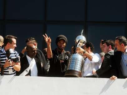 Ronaldinho reafirmou foco no Atlético-MG pela disputa do Mundial de Clubes Foto: Omar Freira/Imprensa MG / Divulgação