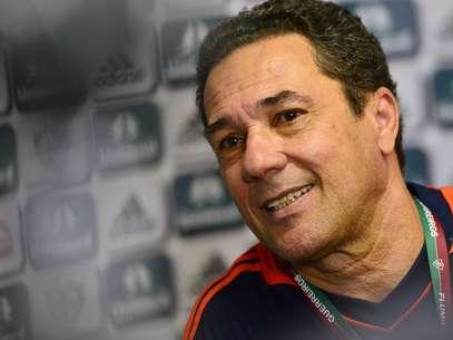 Treinador chegou ao time tricolor esbanjando bom humor Foto: Daniel Ramalho / Terra