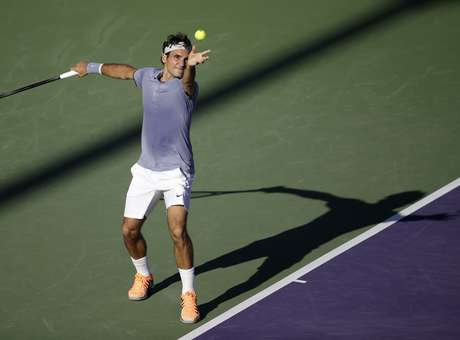 Federer está em um ótimo momento na temporada Foto: AP