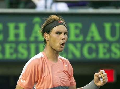 Nadal segue na liderança isolada do ranking divulgado pela ATP Foto: AP