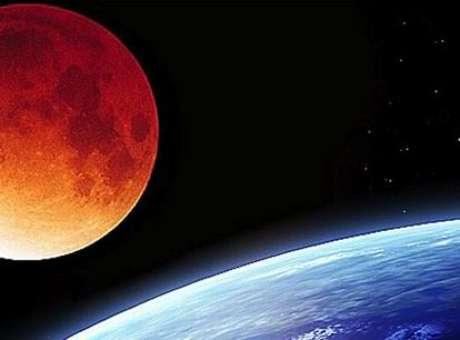Para alguns fiéis, as luas de sangue são mais que um evento cósmico raro, mas sim, um presságio para o fim do mundo  Foto: Nasa / Divulgação