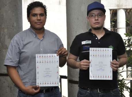 Los estudiantes mexicanos dijeron sentirse orgullosos de representar a su país y al IPN. Foto: IPN