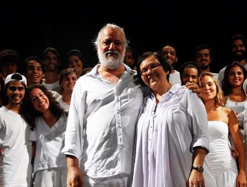 Marcio Meirelles e Deolinda Vilhena Foto Maira Lins