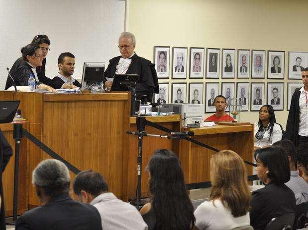 Julgamento do caso Bruno começou em novembro do ano passado Foto: Vagner Antonio/TJMG / Divulgação