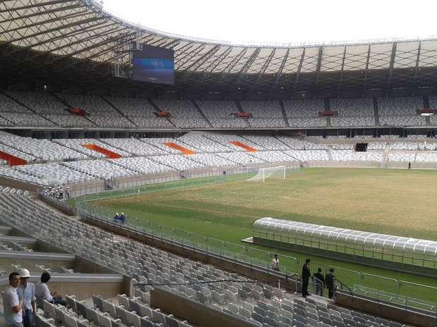 Torcedores terão que respeitar os lugares marcados no Estádio do Mineirão Foto: Marcellus Madureira / Especial para Terra
