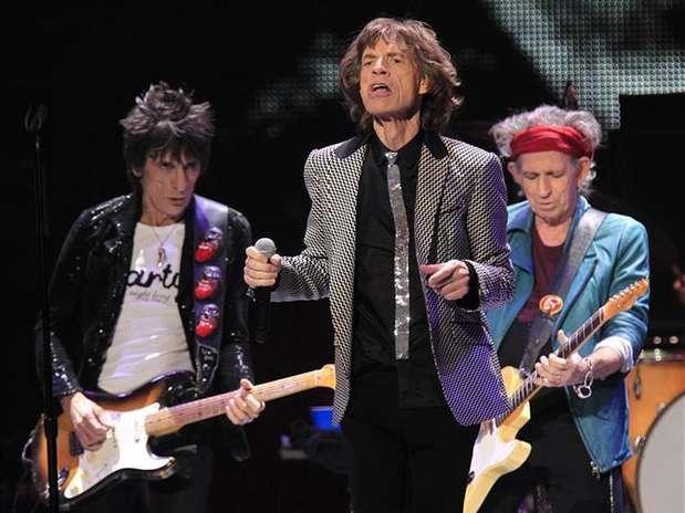 Ronnie Wood (E) disse que banda precisa encontrar tempo para gravar álbum Foto: Carlo Allegri / Reuters