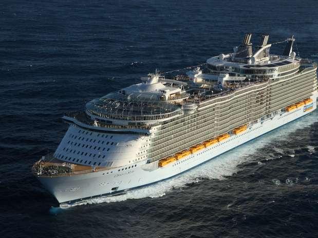 Veja a lista dos cruzeiros mais populares do mundo escolhidos pela revista Criuse Critic Foto:  / Royal Caribbean International/Divulgação