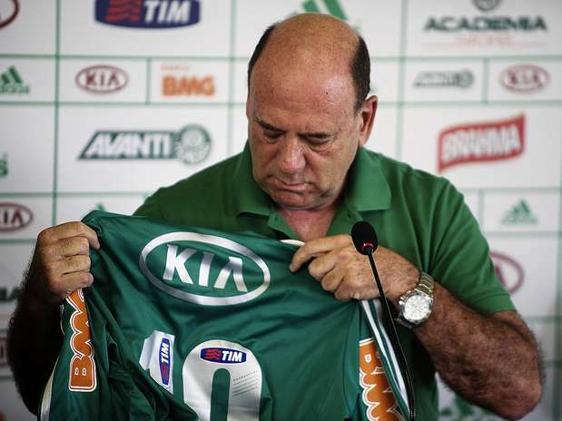 José Carlos Brunoro foi apresentado nesta quinta-feira como diretor executivo de futebol do Palmeiras Foto: Bruno Santos / Terra