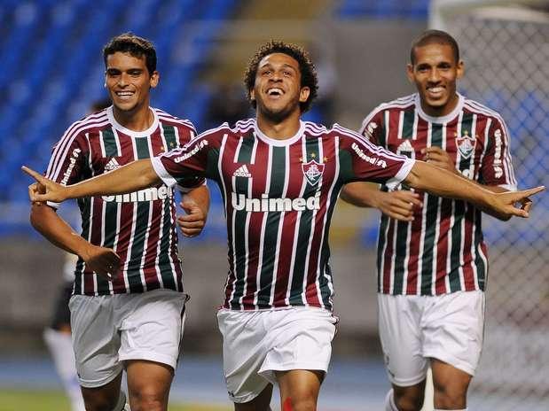 Nomes como Edinho, Jean e Thiago Neves entraram em campo na vitória tricolor por 3 a 1 Foto: Daniel Ramalho / Terra
