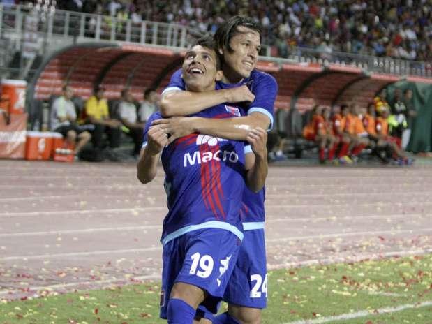 Tigre venceu por 3 a 0 na Venezuela e se classificou para o Grupo 2 Foto:  / EFE