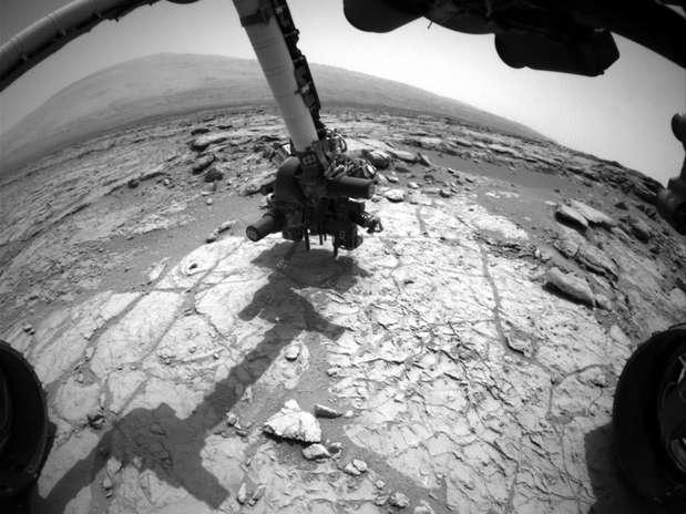 O robô da Nasa pousou em Marte no mês de agosto de 2012 Foto: Nasa / Divulgação