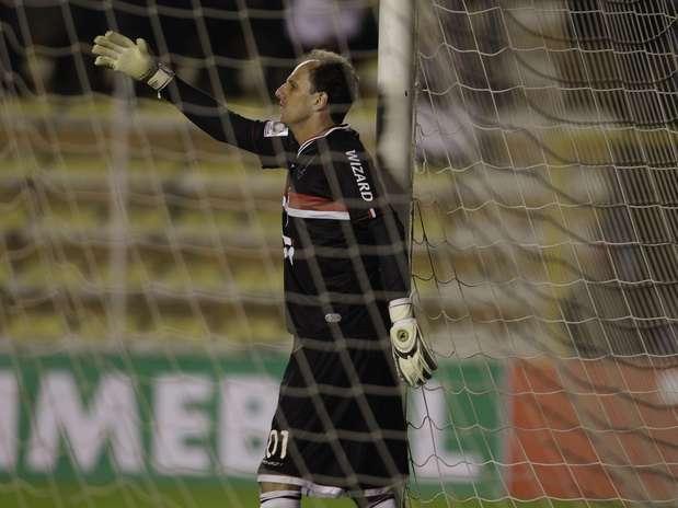 Rogério Ceni sofreu quatro gols em La Paz Foto: Reuters