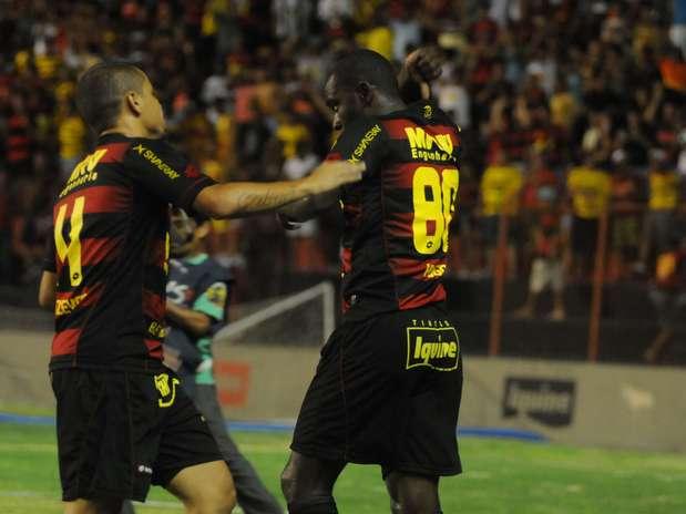 Sport bateu o Fortaleza na Copa do Nordeste Foto: Aldo Carneiro / Agência Lance