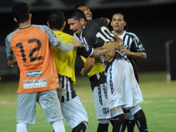 Ceará sofreu gol no segundo tempo e só por isso não é líder do Grupo A Foto: Romildo de Jesus / Agência Lance
