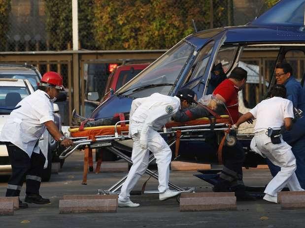 Segundos as primeiras informações, a explosão foi causada por um problema na rede elétrica Foto:  / Reuters
