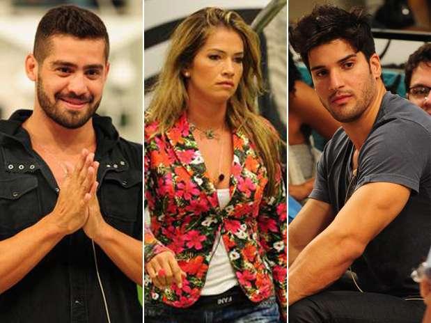 Este é o primeiro Paredão triplo do programa Foto:  / Divulgação/Globo
