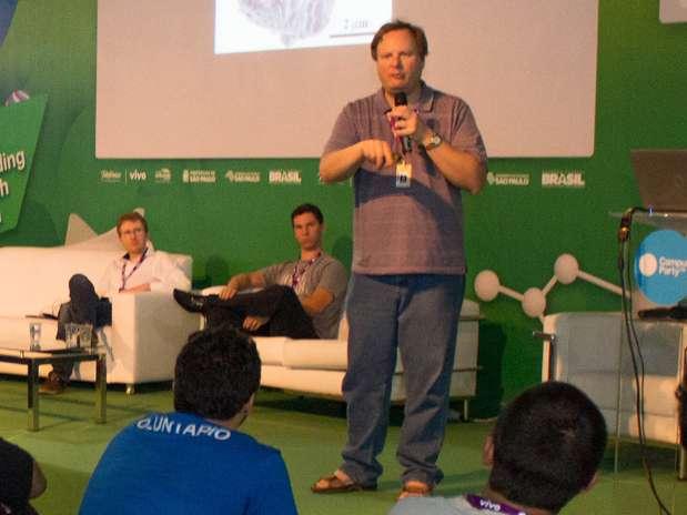 Cientistas de meio período participaram da Campus Party Brasil neste ano Foto: Camila Cunha/indicefoto / Divulgação