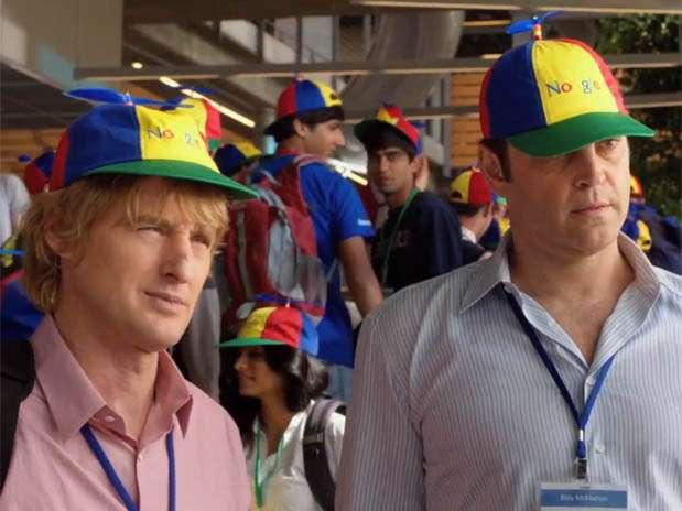 Owen wilson e Vince Vaugh farão um estágio no Google em filme dos estúdios Fox Foto: YouTube.com / Reprodução