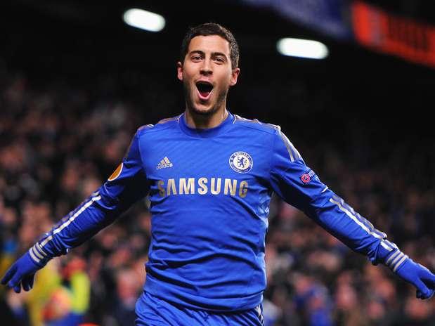 Chelsea empatou com o Sparta Praga no fim do jogo por 1 a 1, graças a gol de Eden Hazard Foto: Getty Images