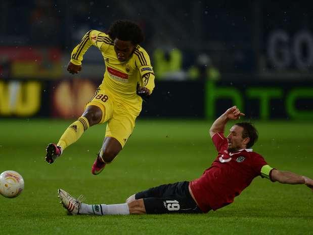 Russos levaram a melhor com vitória por 4 a 2 no placar agregado Foto: AFP