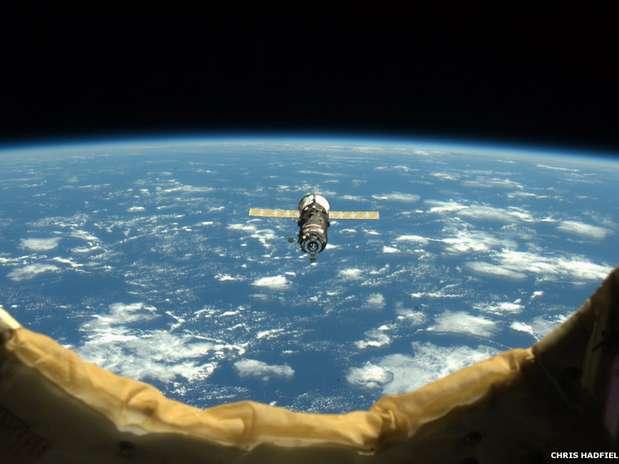 As belas fotos do astronauta oferecem um vislumbre único do planeta Terra e dos trabalhos científicos da tripulação Foto: Chris Redfield/Nasa / Divulgação