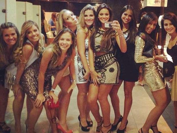 O jogador comemorou o aniversário em um clube noturno na capital paulista Foto: Reprodução/Instagram