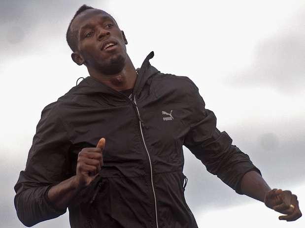 Jamaicano despistou a respeito de possível quebra de recorde mundial de 150 m Foto: Daniel Ramalho / Terra