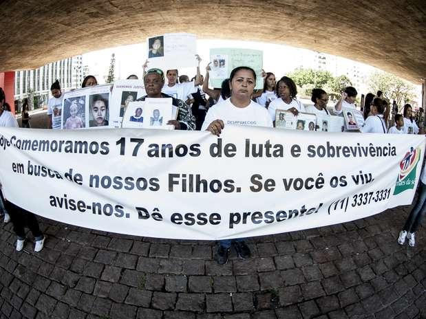 Segundo o Movimento Mães da Sé, por ano desaparecem no Brasil 200 mil pessoas, sendo 40 mil crianças e adolescentes Foto: Agência Brasil