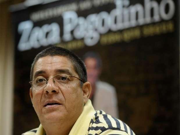 Zeca Pagodinho voltou a criticar o descaso das autoridades com a recuperação de Xerém após as chuvas Foto: Daniel Ramalho / Terra