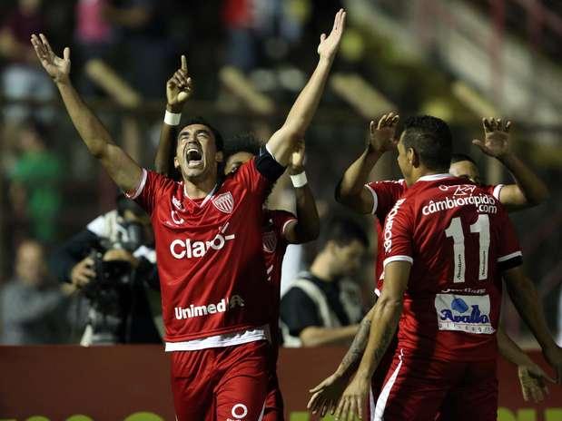 Mogi Mirim atropelou Botafogo neste sábado Foto: Thiago Calil / Photopress / Divulgação