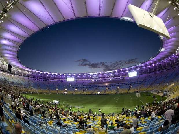 Final da Copa das Confederações pode ser disputada sob chuva Foto: Daniel Ramalho / Terra