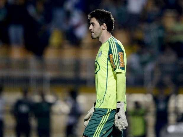 Bruno se considerou o responsável pela eliminação do Palmeiras Foto: Ricardo Matsukawa / Terra