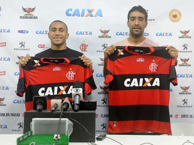 Val e Bruninho se juntam à lista de reforços contratados após o Campeonato Paulista Foto: Alexandre Vidal / Fla Imagem