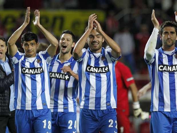 Vitória por 2 a 1 manteve time basco entre os primeiros colocados Foto: EFE