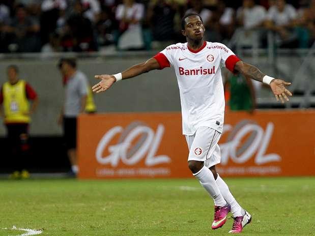 Fred tem ganhado visibilidade com boas atuações com a camisa do Inter Foto: Felipe Oliveira/Agif / Gazeta Press