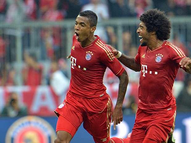 Bayern de Munique quer Luiz Gustavo e Dante na final da Copa da Alemanha Foto: AP