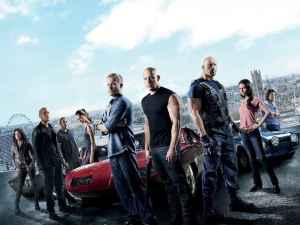 Cartaz do sexto longa-metragem da franquia estrelada por Vin Diesel e Dwayne Johnson Foto: Divulgação