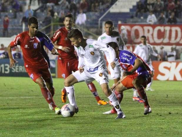 Sport conseguiu virada e concluiu partida com goleada Foto: Jefferson Martins / Futura Press