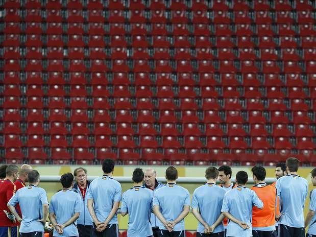 Treinador aproveitará a fragilidade do Taiti para testar jogadores reservas Foto: Marcelo Pereira / Terra