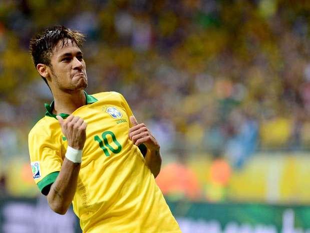 Neymar reencontrará sua ex-equipe no tradicional Troféu Joan Gamper, em 2 de agosto Foto: Ricardo Matsukawa / Terra