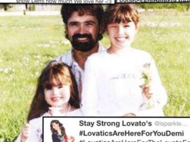 Demi Lovato, Patrick Lovato e Dallas Foto: Who Say / Reprodução