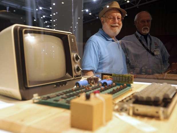 Apple I é exibido no Museu de História dos Computadores em Mountain View, na Califórnia Foto: EFE